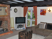 Calcot Cottage living room