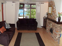 Yew Tree Cottage living room